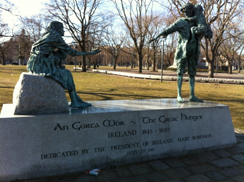 Irish Famine Memorial, Cambridge Common